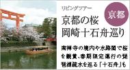 東山・青龍殿で市街も一望 京都の桜・岡崎十石舟(じっこくぶね)巡り