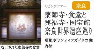 薬師寺・食堂と興福寺・国宝館 奈良世界遺産巡り