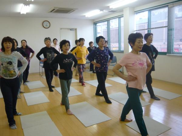日本最初の健康体操 自彊術